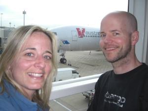 Arriving in Brisbane