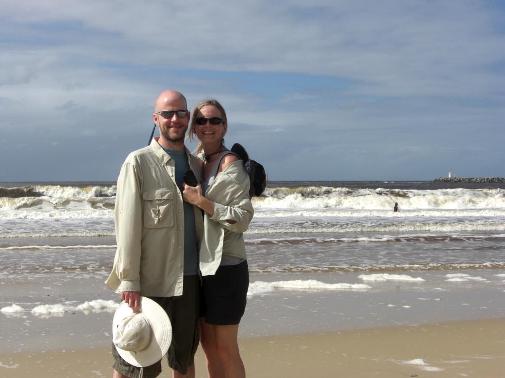 Lovin' the sun on Mooloolaba Beach