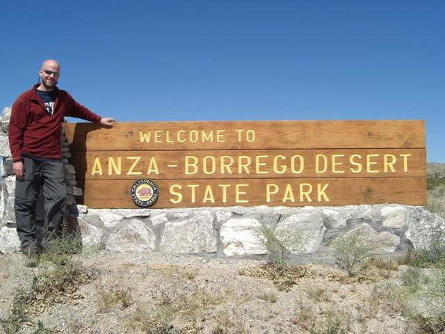 Venturing into Anza-Borrego Desert State Park