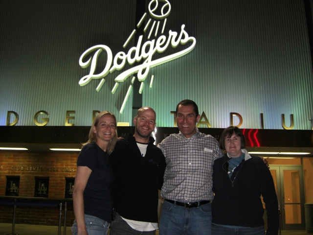 Friday Night at Dodger Stadium with Kelly and Susan