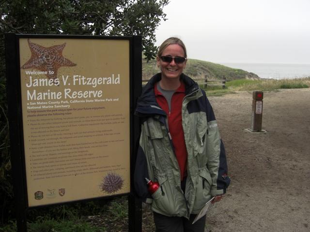 Fitzgerald Marine Reserve in Moss Beach, Calif.