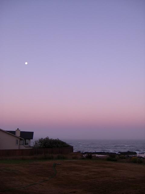 Full-moon Morning