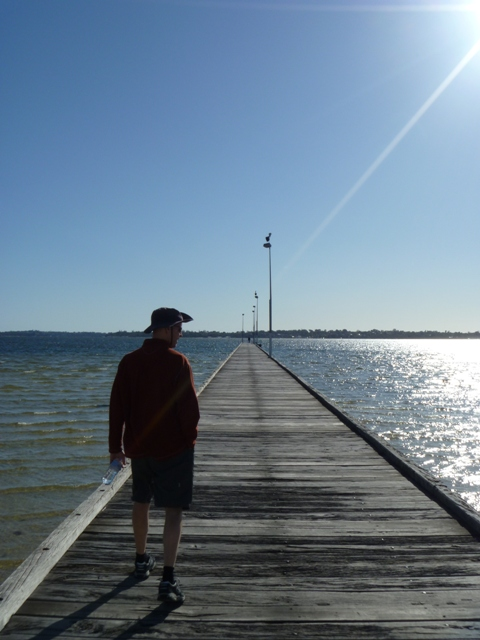 Como Beach Jetty