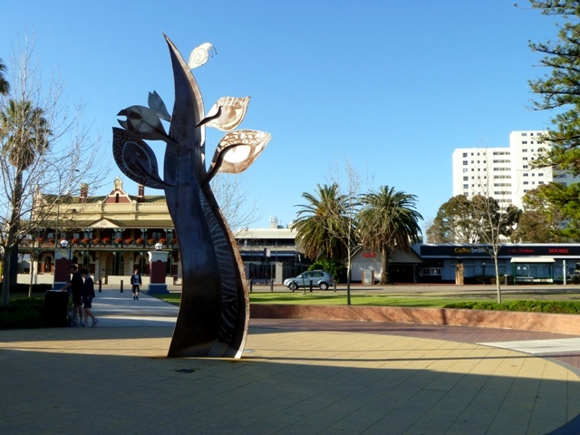 Public art in Perth.