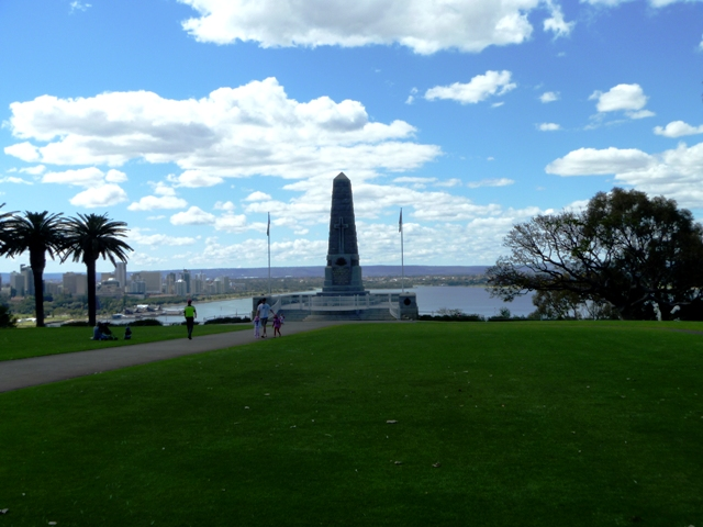 Monument in Kings Park.