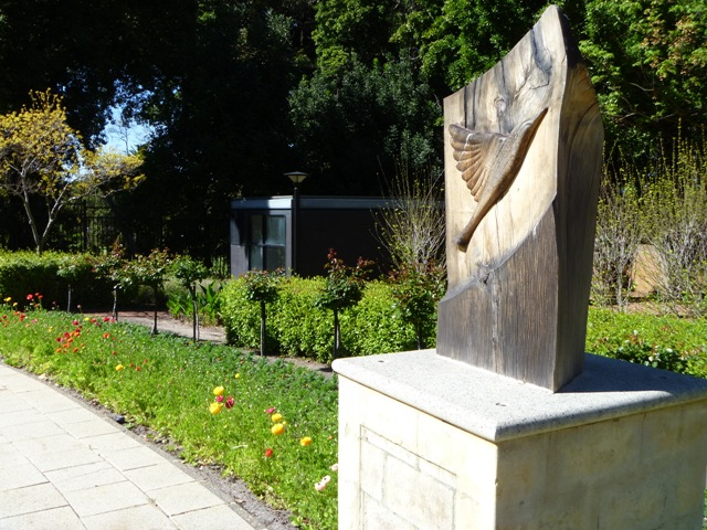 Sculpture on government grounds