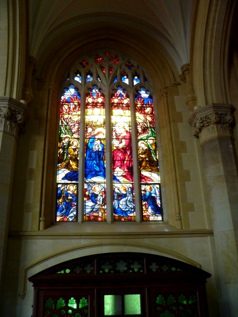 St. Mary's Stained Glass Window