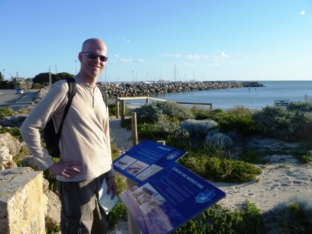 Emmett in Fremantle