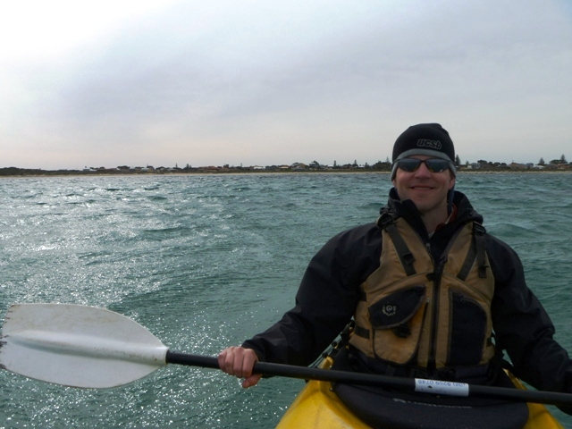 Emmett kayaking