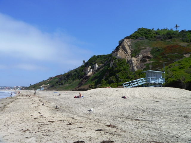 Malaga Cove Bluffs and Beach