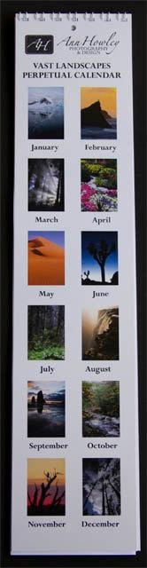 Perpetual Calendar by Ann Howley