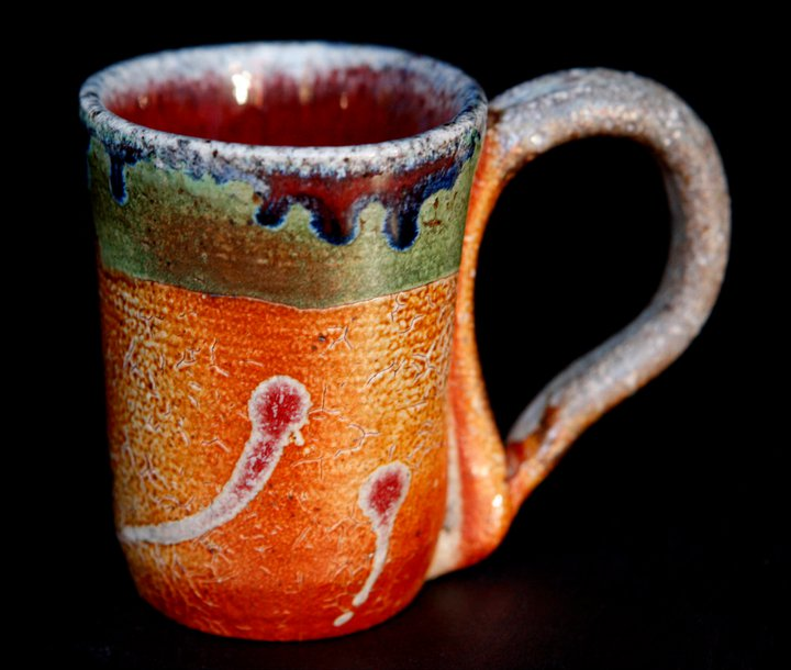 Hand-thrown ceramic mug by Patty Housen