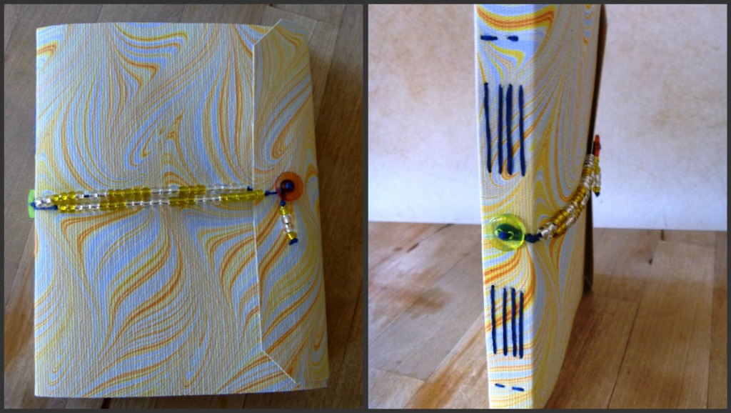 Yellow Flame Journal