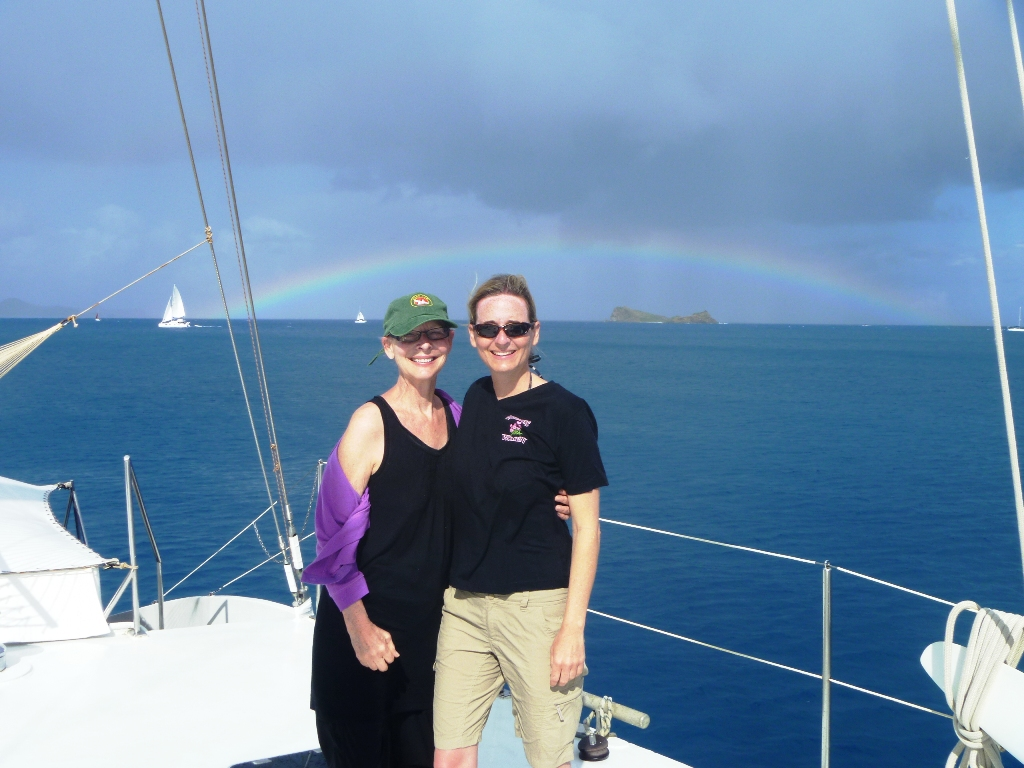 Rainbow in the BVI