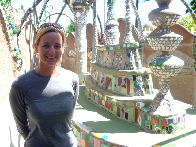 Inside Watts Towers
