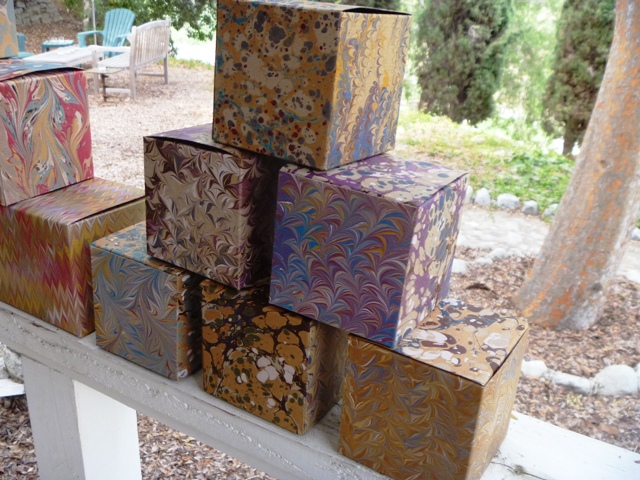 Marbled 4x4x4 Boxes