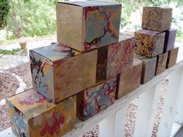 Marbled 6x4x4 Box