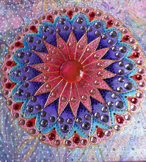 elle's Marbled Mandala