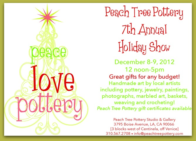 Peach Tree Holiday Show December 8 and 9