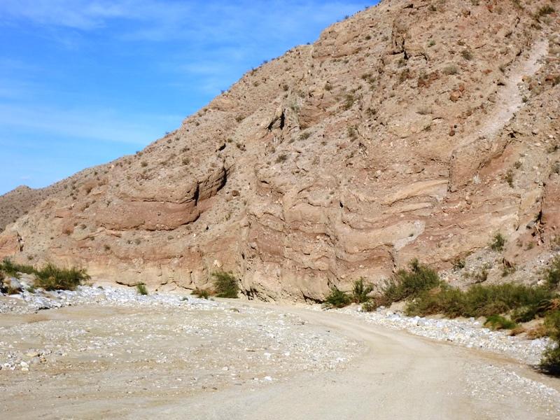 Fish Creek Canyon Wall