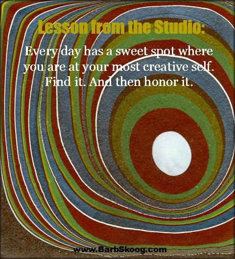 Lesson from the Studio