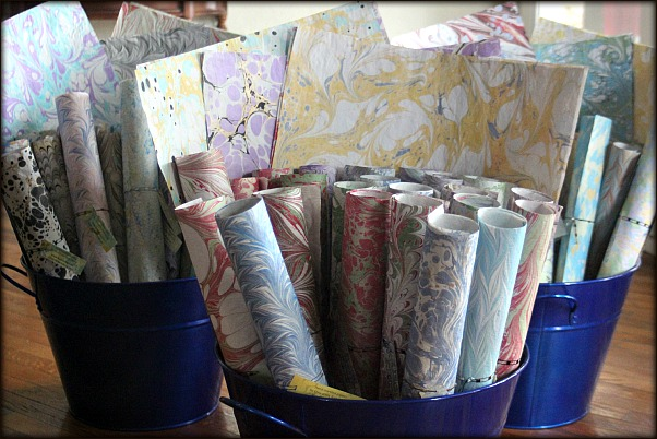 Marbled Wrapping Paper