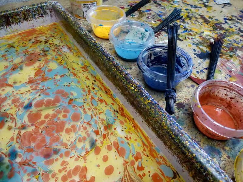 Marbling Classes by Barb Skoog