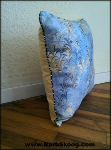 Accent Pillow by Marbler Barb Skoog