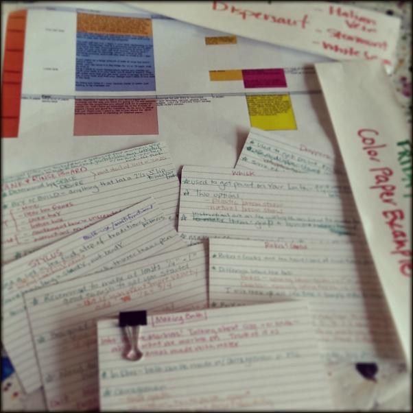 Marbling eCourse Notes by marbler Barb Skoog